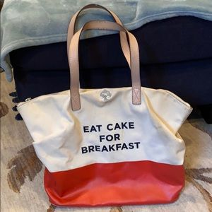 Kate Spade Eat Cake For Breakfast Bag Purse